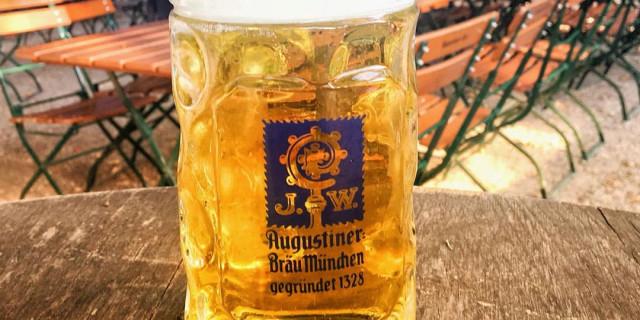 Biergarten Stuttgart, Augustiner Bräu München, bestes Bier, einzigartiges Bier, Bräu Stuttgart, Bräu